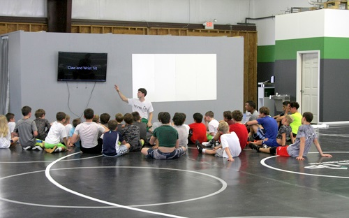 Level Up Summer Wrestling Camps