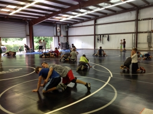Level Up Wrestling Practice 2
